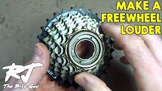 Video How To Make A Freewheel Louder MP3, 3GP, MP4, WEBM, AVI, FLV Juni 2017