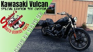 9. the BETTER and CHEAPER sportster!  Riding a Vulcan 900 Custom SPECIAL EDITION