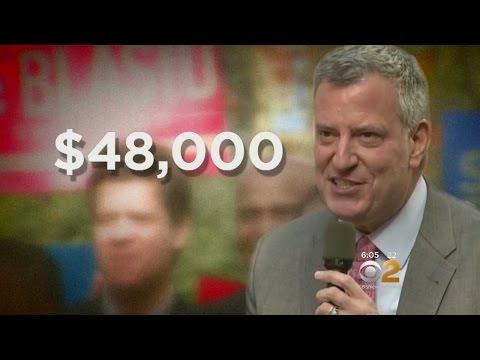 Campaign Finance Fines For De Blasio