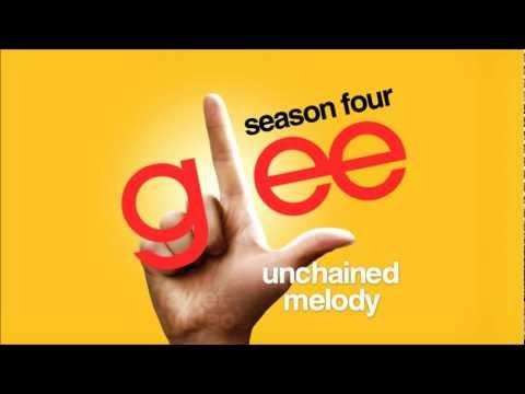 Tekst piosenki Glee Cast - Unchained Melody po polsku