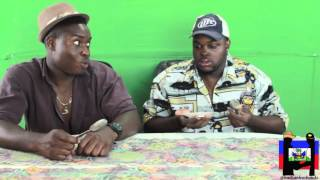 Haitians Try American Food For The First Time.