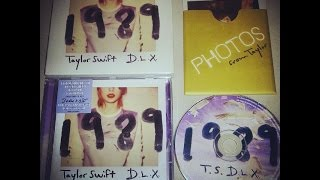 Unboxing Taylor Swift 1989 Deluxe