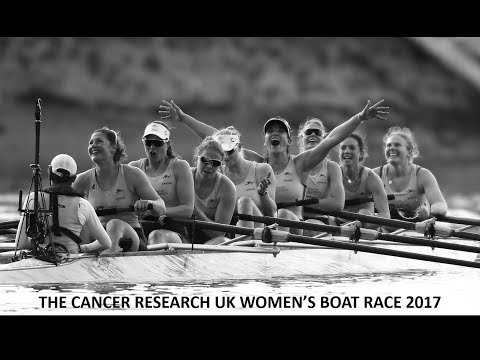 The Cancer Research UK Women's Boat Race 2017