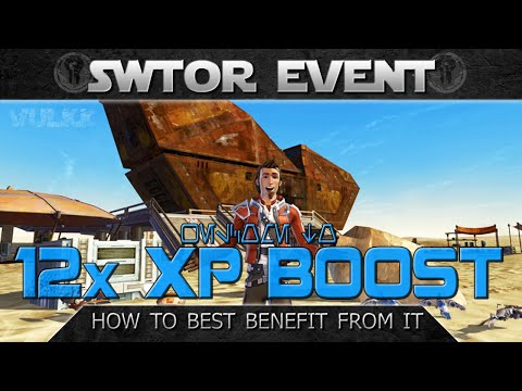 SWTOR 12X Event 2015 – How to Best Use It (Tips and Suggestions)