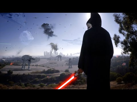 If Imperial Forces Invaded LA It Might Look Like