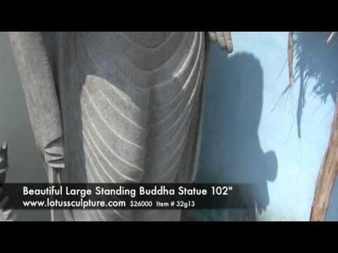 Large Gandhara Buddha Statue 102