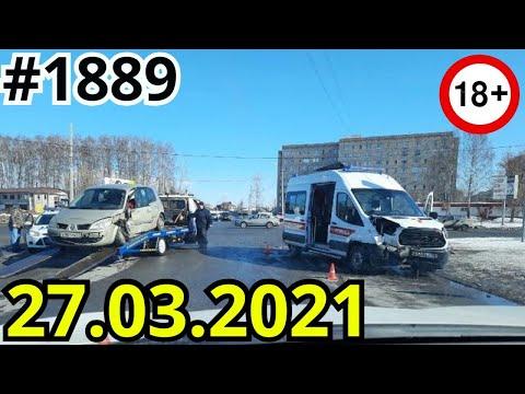Новая подборка ДТП и аварий от канала Дорожные войны за 27.03.2021