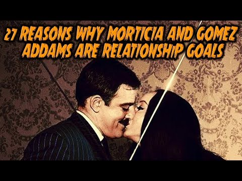 27 Reasons Why Morticia And Gomez Addams Are Relationship Goals