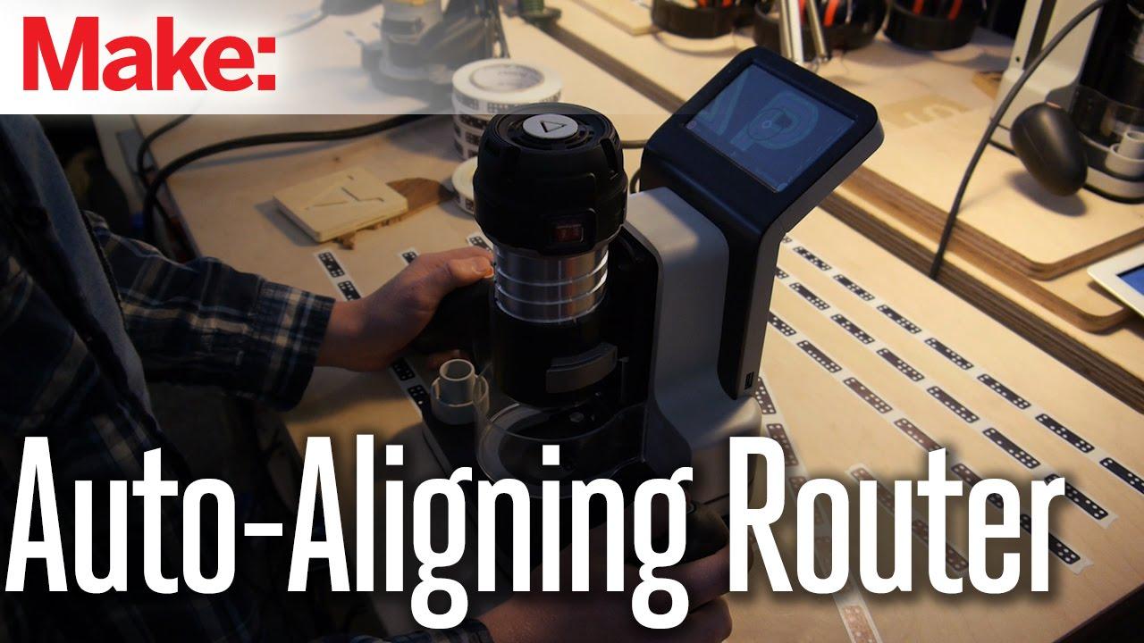 Auto-Aligning Router #DIY #CraftersU #Woodworking ...