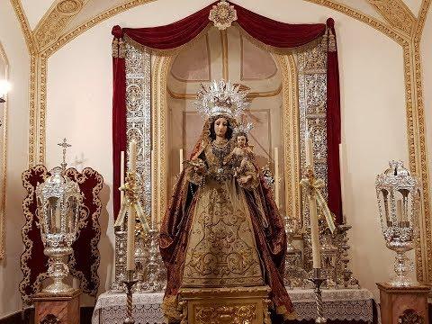 Entronización Ntra. Sra. del Rosario de Isla Cristina