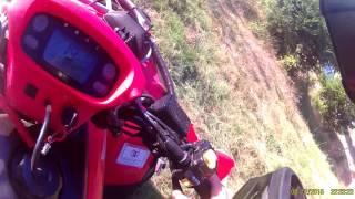 10. Quad honda ricon 500cc chute
