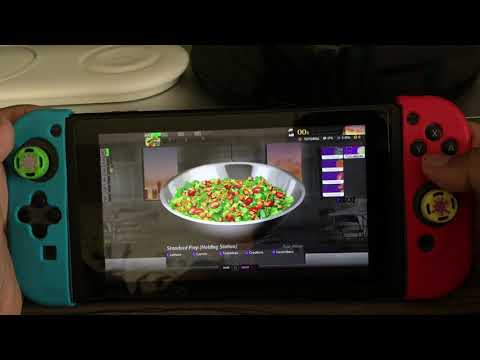 Nintendo Switch Cook Serve Delicious 2 Gameplay!