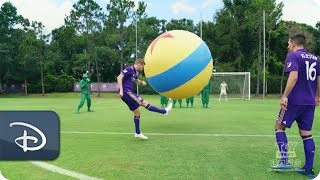 Disney Parks - Orlando City Soccer Club Takes on Toy Story Land - Inspired Drills
