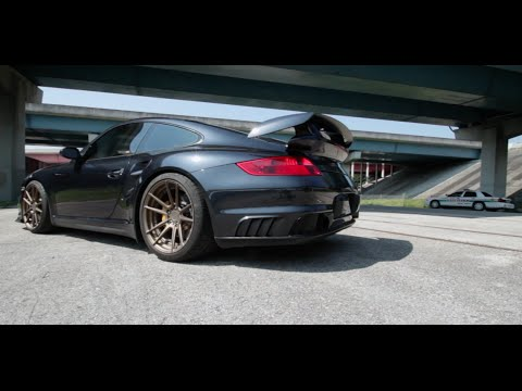 Porsche gt2 тест снимок