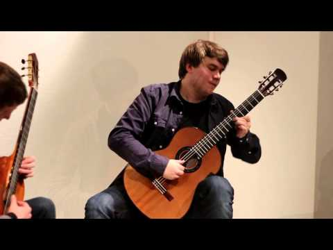Albéniz - Bajo la Palmera - Martin Fogel and Patrik Kleemola