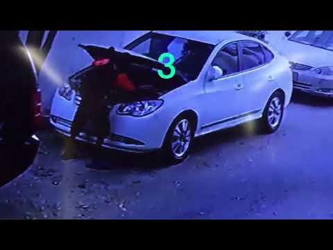 العرب اليوم - شاهد: لحظة سرقة صبي بطارية سيارة من أمام منزل صاحبها