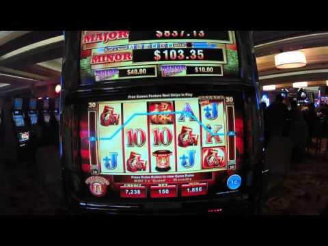 Year of the TIGER - Oriental Fortune Slot Machine Free Games Bonus w/ Retrigger