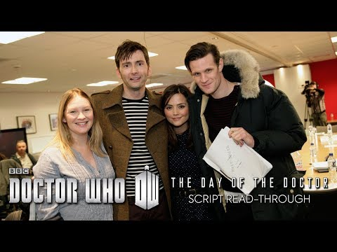 Doctor Who 50th Anniversary: Script To Screen - 50th Read Through