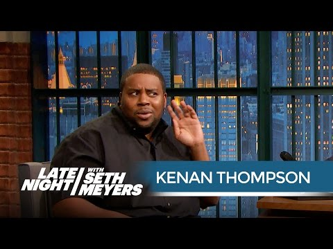 Kenan Thompson Remembers Strange Advice from Bill Cosby