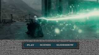 Harry Potter and The Deathly Hallows DVD Menu