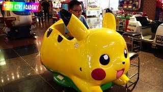 Indoor Playground Family Fun Play Area for Kids with Pokemon,T...