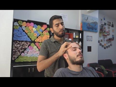 Hairdresser - ASMR Turkish Barber Face, Head and Body Massage 151 
