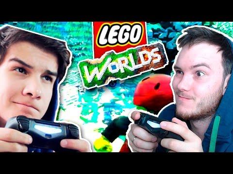 ТЕСТИМ МУЛЬТИПЛЕЕР   Lego Worlds w\\ Qewbite