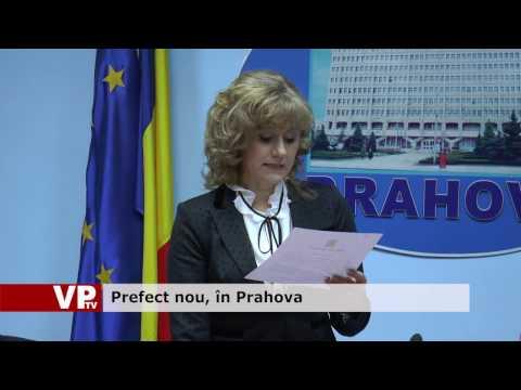 Prefect nou, în Prahova