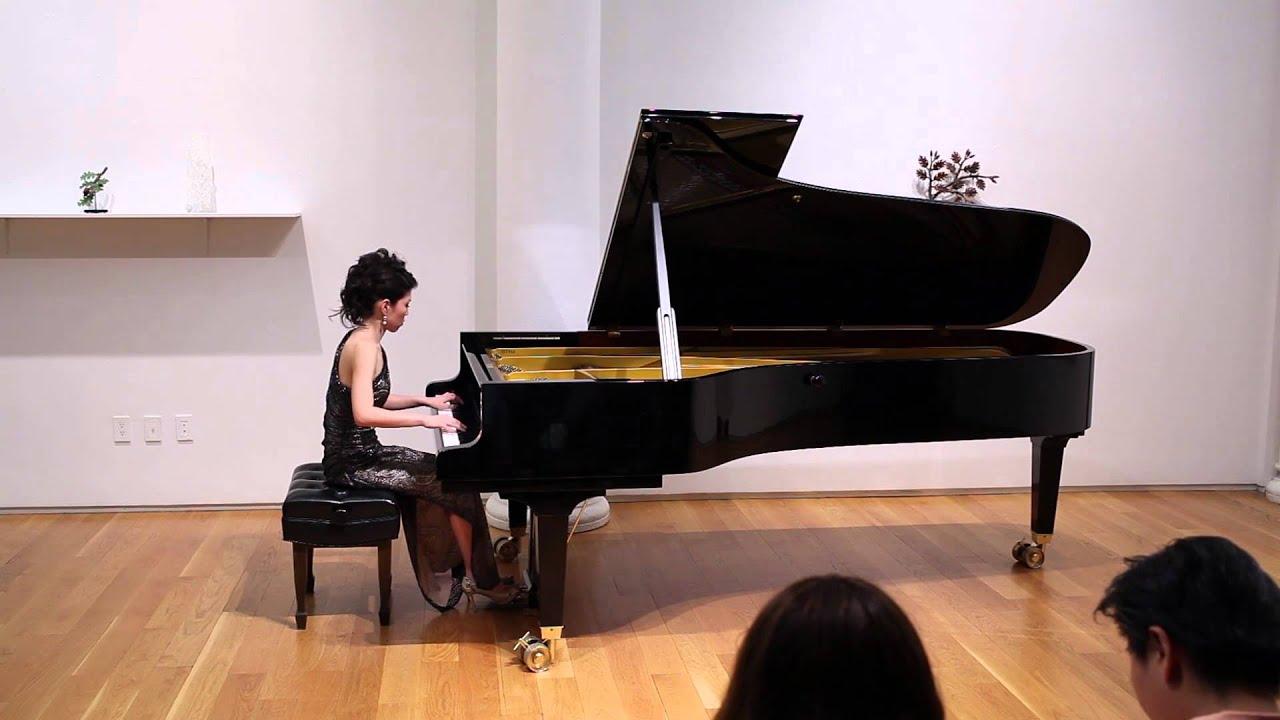 Eri Miyashita Plays Piano Sonata No.1 Op.22 (1st & 2nd Movement) by Alberto Ginastera
