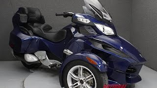 6. 2010  CAN AM  SPYDER RT SM5 AUDIO - National Powersports Distributors
