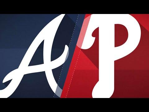 Arrieta's 6 2/3 scoreless lead Phils to win: 5/23/18 (видео)