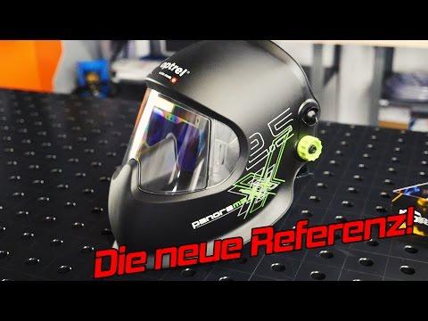Igors Neuer: Panoramaxx von Optrel Automatikschweißhelm / Schweißmaske