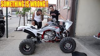 4. SOMETHING IS WRONG WITH MANNY'S YFZ450R
