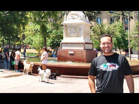 Clima no verão em Santiago