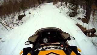 9. Ski-Doo MXZ 380 Trailriding