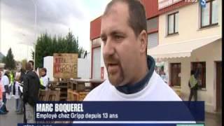Seyssins France  City new picture : Reportage sur la fermeture de Gripp Seyssins