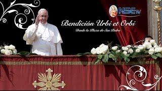 Bendición Urbi et Orbi 25-12-2016