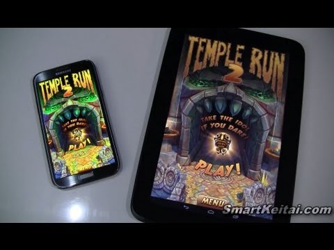 Temple Run 2 for Android – Gameplay on Galaxy Note II and Nexus 10
