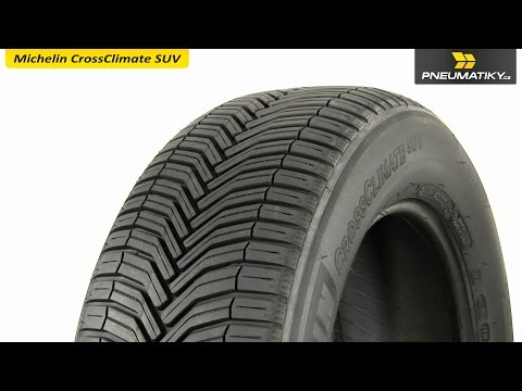 Youtube Michelin CrossClimate SUV 235/60 R18 107 W XL Univerzální