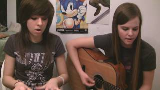"Christina and Tiffany singing ""Break Your Heart"" by Taio Cruz - Christina Grimmie"