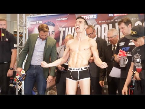 Crolla v Linares weigh-in / head-to-head