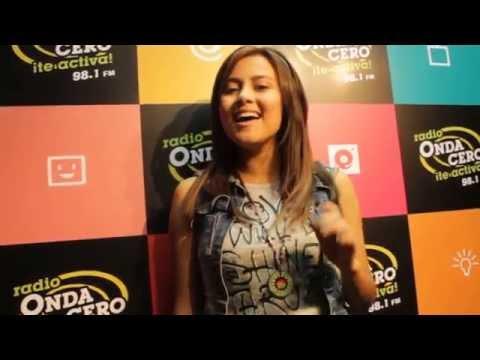 Amy Gutierrez, ganadora de 'La Voz Kids' envía saludos a Onda Cero