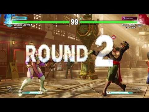 Rump nasty vega vs (CowAndLadyPS4) Diamond mika STREET FIGHTER V