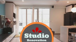 Studio Apartment renovation (Before and After )