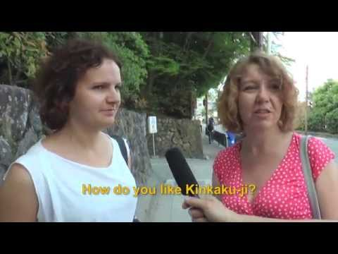 Travelers' Voice of Kyoto KINKAKU-JI Area Interview 002