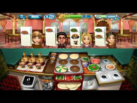 COOKING FEVER: INDIAN RESTAURANT LEVEL 40 GAME PLAY | FULLY UPGRADED |3 STARS ALL LEVELS