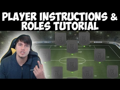 instructions - FIFA 15 Player Instructions Tutorial - How to Change Player Instructions & Roles in FUT 15 --- Can we get 850 likes? USE