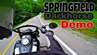 8. Indian Springfield Darkhorse , say what, Sounds Great... Vlog#239