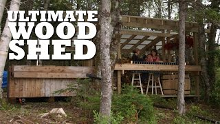 The guys build a relaxing woodshed to escape from the hustle and bustle of the cottage.What projects should we make next? Let us know in the comments!All Brojects, all the time: http://www.cottagelife.com/brojectsSubscribe to Cottage Life on YouTube: http://bit.ly/19UCmwFDIY projects, design tips, recipes and more: http://www.cottagelife.comTwitter: http://www.twitter.com/cottagelifeFacebook: http://www.facebook.com/cottagelifePinterest: http://pinterest.com/cottagelife/Subscribe to Cottage Life Food: https://www.youtube.com/cottagelifefoodSubscribe to Cottage Life Style: https://www.youtube.com/cottagelifestyle