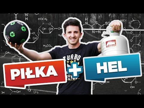 EKSPERYMENT: NAPOMPOWAŁEM PIŁKĘ HELEM!:  ✪ http://TURBOFREESTYLER.pl ☛ 16-dniowy program nauki trików piłkarskich z Krzychem! ✔Plany treningowe